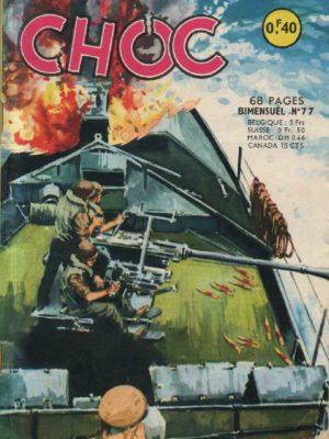 CHOC (1E SERIE) N°77 Mission spéciale (Artima 1964)