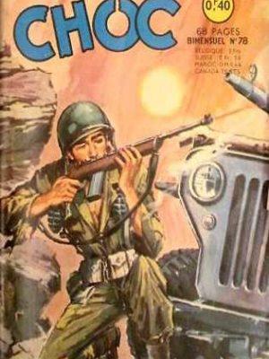 CHOC (1E SERIE) N°78 Mission spéciale 2e partie (Artima 1965)