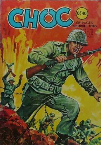 CHOC (1E SERIE) N°88 L'épreuve (Aredit 1965)