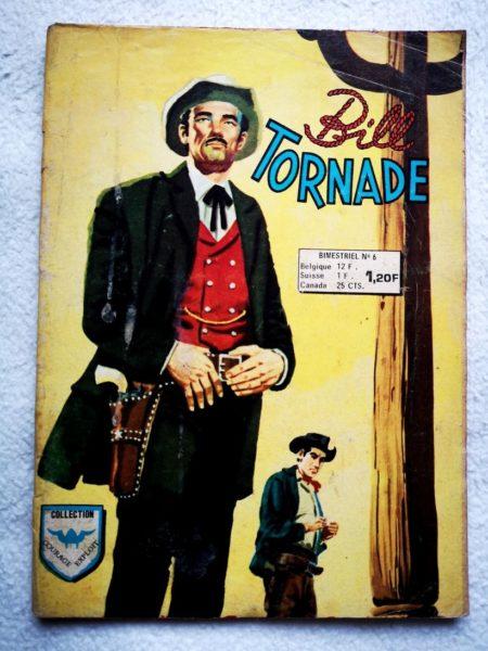 BILL TORNADE 2e série N°6 - Le totem qui parle (AREDIT 1976)