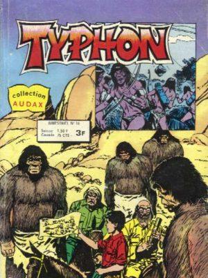 TYPHON N°18 – La terrible piste de Tolmec (Collection Audax) Aredit