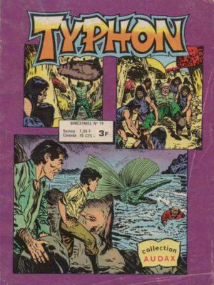 TYPHON N°19 – L'or des conquistadors (Collection Audax) Aredit