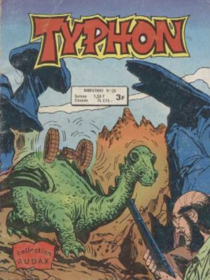 TYPHON N°20 – Enigme en puzzle (Collection Audax) Aredit