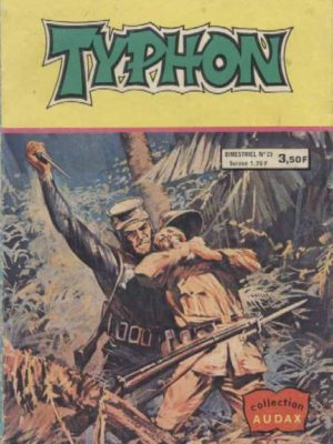 TYPHON N°25 – Les défenses de la jungle (Collection Audax) Aredit