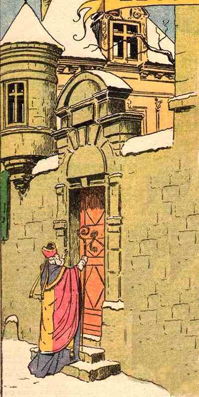 Le passage de Saint-Nicolas - Le Rallic - La Semaine de Suzette 1926