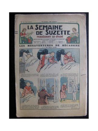 La Semaine de Suzette 34e année n°1 (1937) - Les mésaventures de Bécassine (Bleuette)