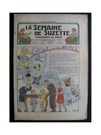 La Semaine de Suzette 34e année n°5 (1937) - Les jouets disparus et Mr le détective (Bleuette)
