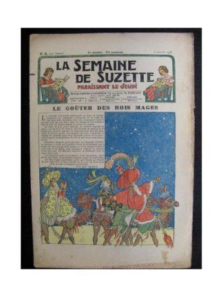 La Semaine de Suzette 34e année n°6 (1938) - Le goûter des Roi Mages