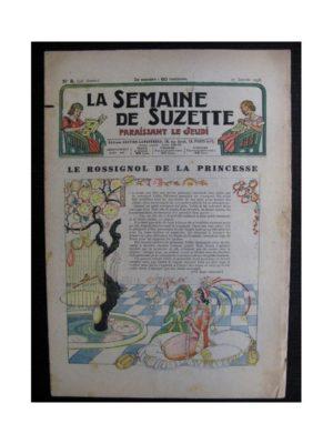 La Semaine de Suzette 34e année n°8 (1938) – Le rossignol de la princesse