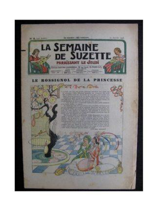 La Semaine de Suzette 34e année n°8 (1938) - Le rossignol de la princesse