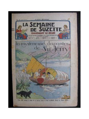 La Semaine de Suzette 34e année n°11 (1938) – La mystérieuse disparition de Sir Jerry (Bleuette)