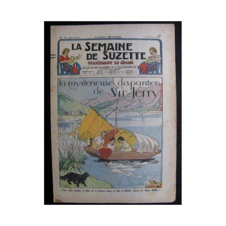La Semaine de Suzette 34e année n°11 (1938) - La mystérieuse disparition de Sir Jerry (Bleuette)