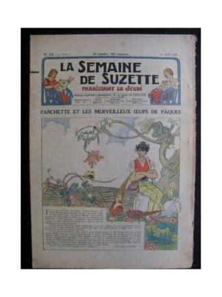 La Semaine de Suzette 34e année n°20 (1938) - Fanchette et les merveilleux œufs de Pâques (Bleuette)