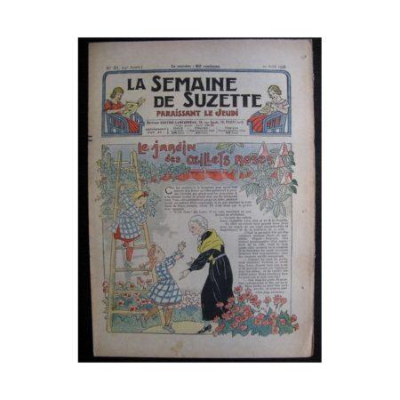 La Semaine de Suzette 34e année n°21 (1938) - Le jardin des œillets de roses (Bleuette)
