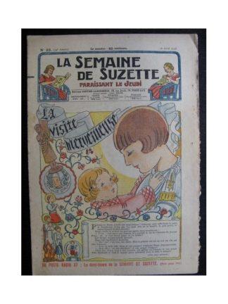 La Semaine de Suzette 34e année n°22 (1938) - La visite merveilleuse