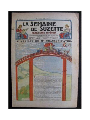 La Semaine de Suzette 34e année n°23 (1938) – Le mariage de Mlle Chanson-d'Avril