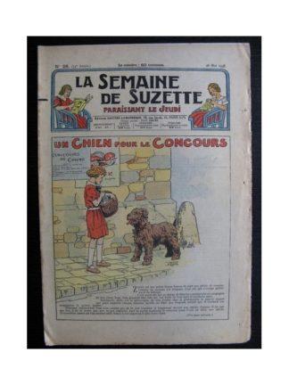 La Semaine de Suzette 34e année n°26 (1938) - Un chien pour le concours (Bleuette)