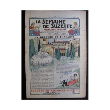 La Semaine de Suzette 34e année n°28 (1938) - La bergère et l'infante