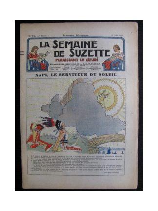 La Semaine de Suzette 34e année n°29 (1938) - Napi le serviteur du soleil