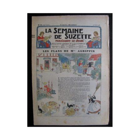 La Semaine de Suzette 34e année n°31 (1938) - Les flans de Mlle Agripin