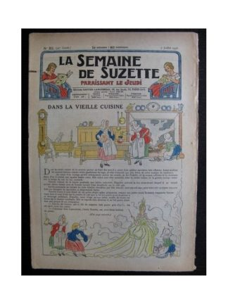 La Semaine de Suzette 34e année n°32 (1938) - Dans la vieille cuisine (Bleuette - Bambino)