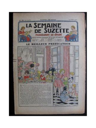 La Semaine de Suzette 34e année n°33 (1938) - Le meilleur prédicateur
