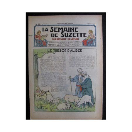 La Semaine de Suzette 34e année n°34 (1938) - Le trésor d'Alibée