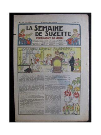 La Semaine de Suzette 34e année n°36 (1938) - Les messagers infidèles