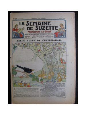 La Semaine de Suzette 34e année n°37 (1938) – Belle biche de Clairmarais