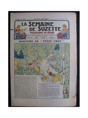 La Semaine de Suzette 34e année n°38 (1938) – Histoire de Petit Chou (Bleuette)