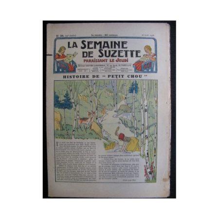 La Semaine de Suzette 34e année n°38 (1938) - Histoire de Petit Chou (Bleuette)