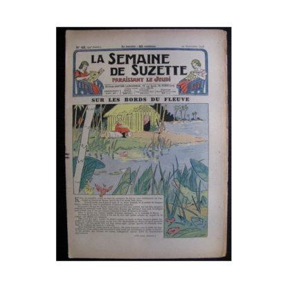 La Semaine de Suzette 34e année n°43 (1938) - Sur les bords du fleuve