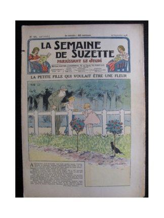 La Semaine de Suzette 34e année n°44 (1938) - La petite fille qui voulait être une fleur