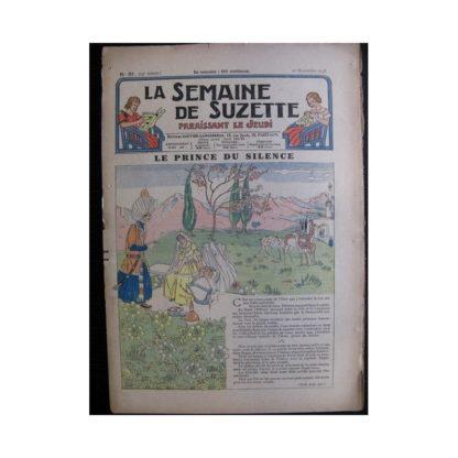 La Semaine de Suzette 34e année n°51 (1938) - Le prince du silence