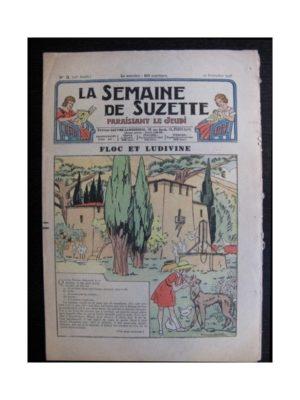 La Semaine de Suzette 35e année n°3 (1938) – Floc et Ludivine (Bleuette)
