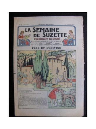 La Semaine de Suzette 35e année n°3 (1938) - Floc et Ludivine (Bleuette)