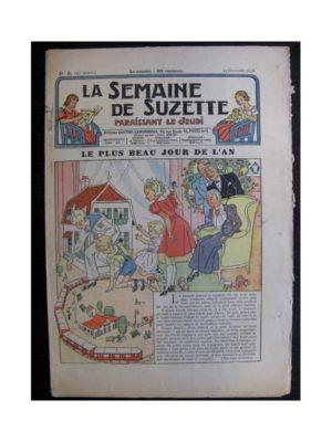 La Semaine de Suzette 35e année n°5 (1938) – Le plus beau jour de l'An (Bleuette)