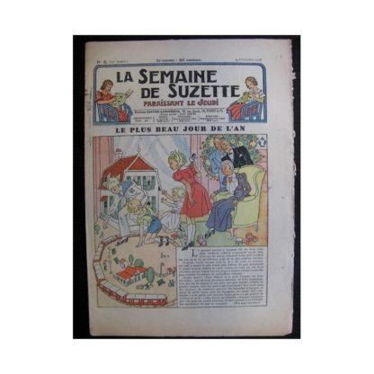 La Semaine de Suzette 35e année n°5 (1938) - Le plus beau jour de l'An (Bleuette)