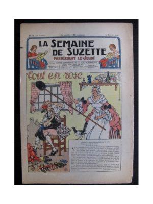 La Semaine de Suzette 35e année n°8 (1939) – Tout en rose (Bleuette)