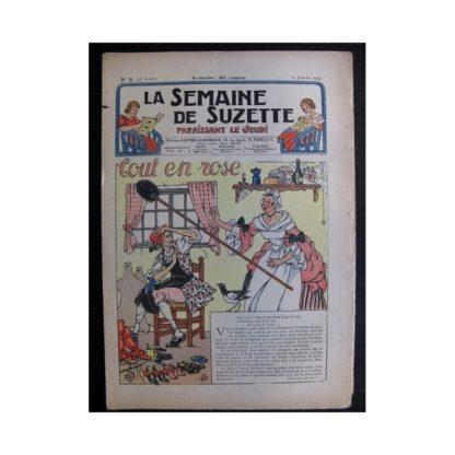La Semaine de Suzette 35e année n°8 (1939) - Tout en rose (Bleuette)