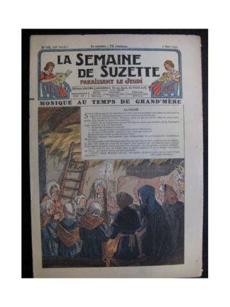 La Semaine de Suzette 35e année n°14 (1939) - Monique au temps de grand-mère