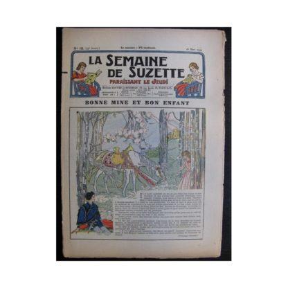 La Semaine de Suzette 35e année n°16 (1939) - Bonne mine et bon enfant