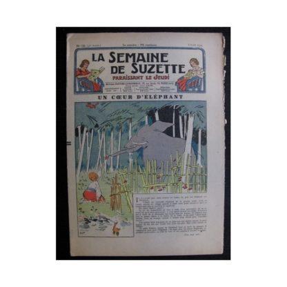 La Semaine de Suzette 35e année n°19 (1939) - Un cœur d'éléphant