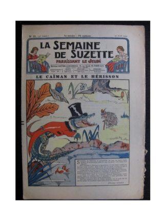 La Semaine de Suzette 35e année n°21 (1939) - Le caïman et le hérisson
