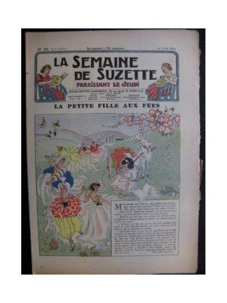 La Semaine de Suzette 35e année n°22 (1939) - La petite fille aux fées