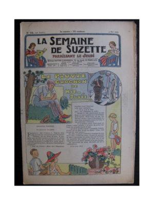 La Semaine de Suzette 35e année n°23 (1939) - Le pauvre grognon de mi-Josée (Bleuette)