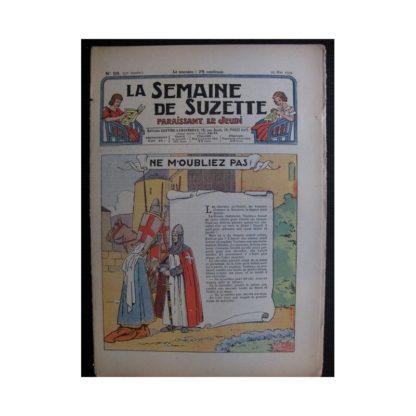 La Semaine de Suzette 35e année n°26 (1939) - Ne m'oubliez pas