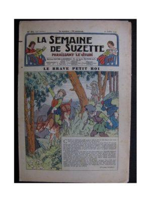La Semaine de Suzette 35e année n°34 (1939) - Le brave petit roi