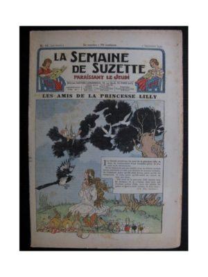La Semaine de Suzette 35e année n°41 (1939) – Les amis de la princesse Lilly (Bleuette)