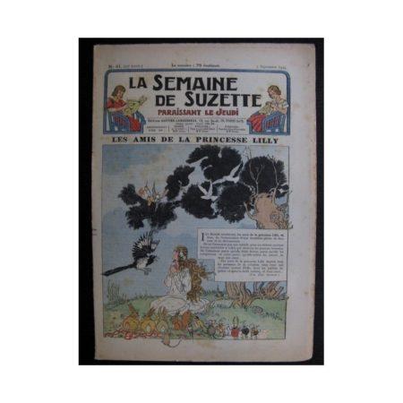 La Semaine de Suzette 35e année n°41 (1939) - Les amis de la princesse Lilly (Bleuette)